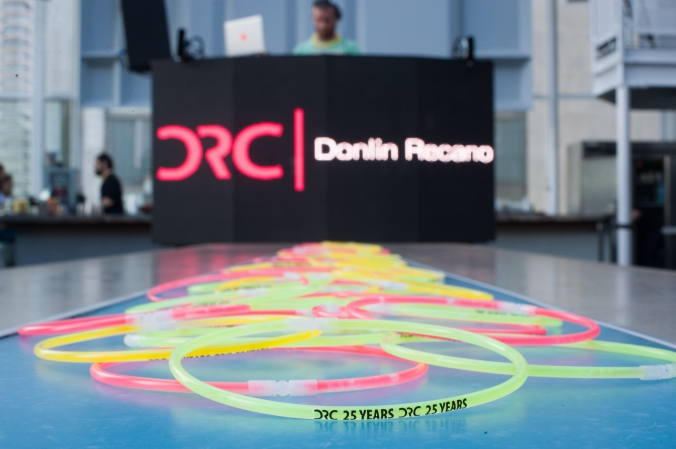Detail photogrpah at Donlin Recano's private corporate event at Wit Hotel, the ROOF.