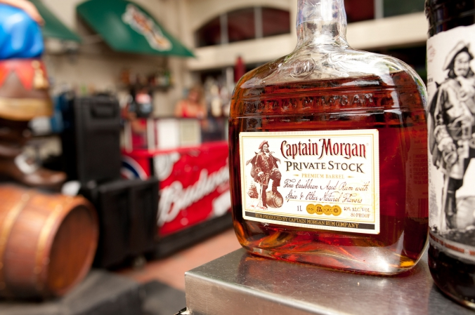 Captain Morgan makes personal appearance at promotional event in Wrigleyville, event photography by fab photo chicago.