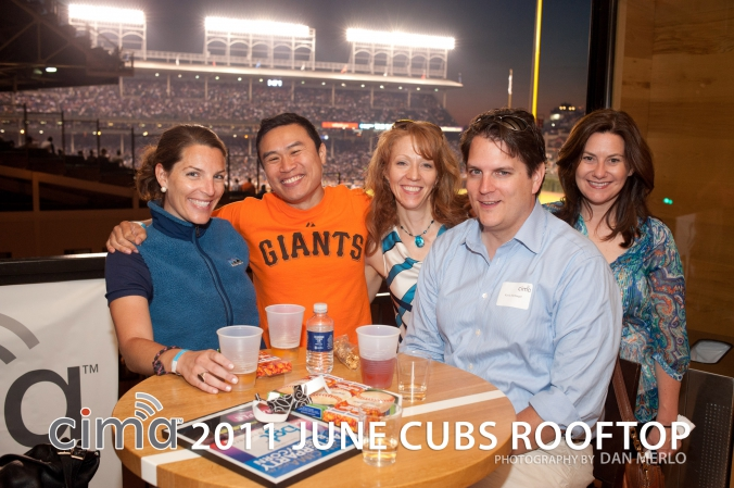 CIMA 2011 June Cubs Rooftop event photo