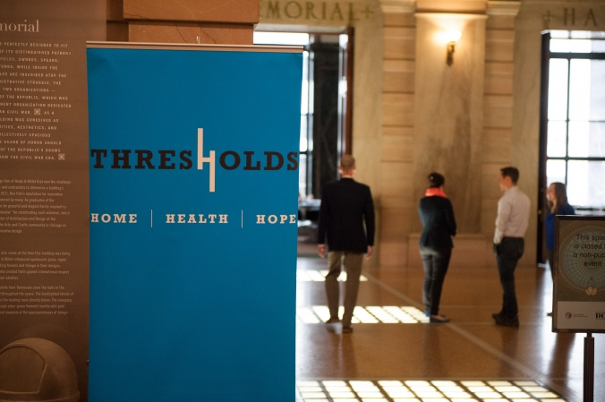 Threshold's annual member meeting at Chicago Cultural Center
