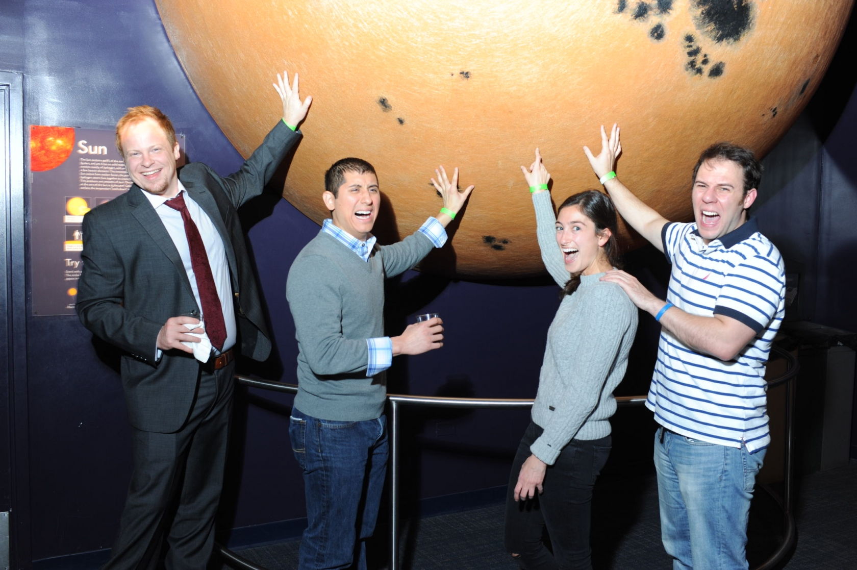 Guests at TEAMHealth touch the Sun at private event hosted at Boston Museum of Science