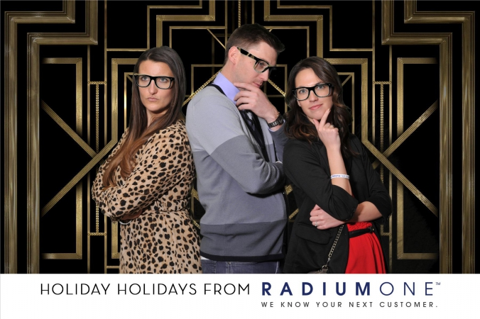 green screen photography, fab photo, chicago, cima holiday party 2014, logo branded onsit photo print sponsored by radiumone