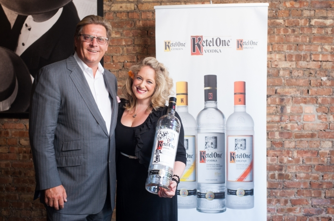 carl notel jr, ketel one vodka, bottle signing event, fab photo chicago
